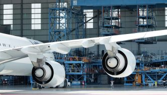Aircraft Wing and Engines